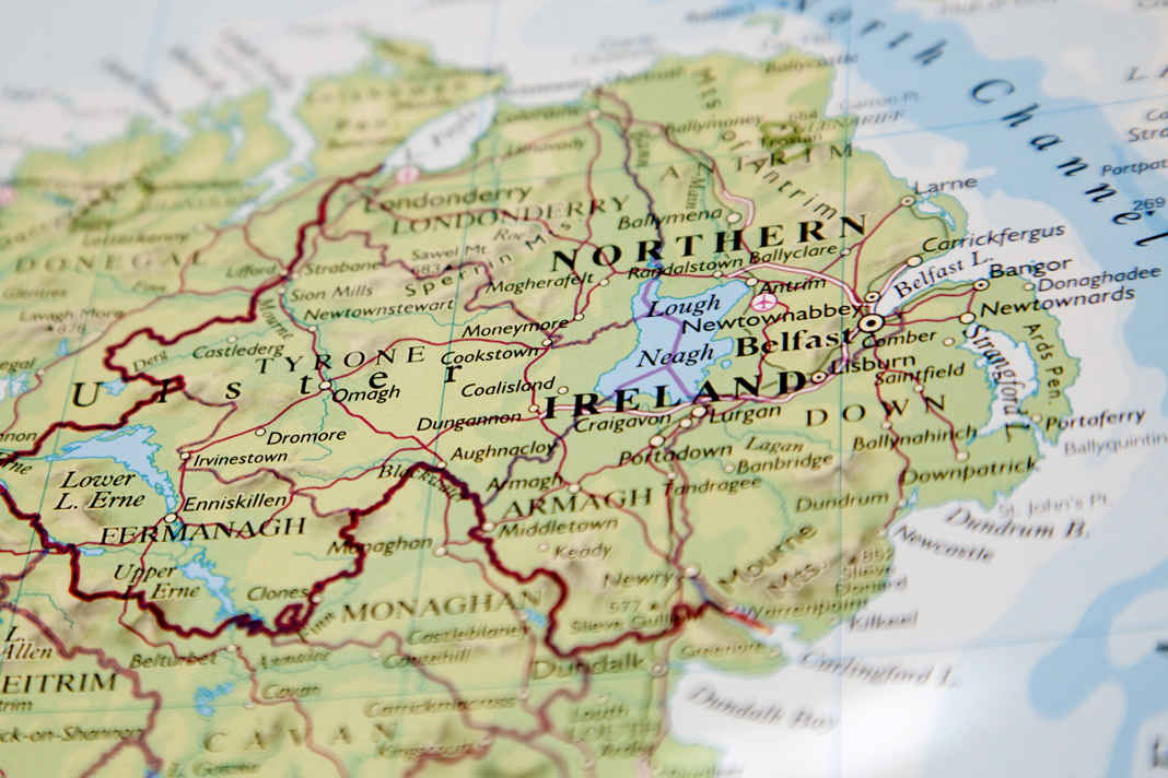 Cities In Ireland Map.How A Move Of God In Northern Ireland Provides The Blueprint For