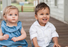 Katie Page kids brother and sister