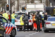 Police at Dutch Tram