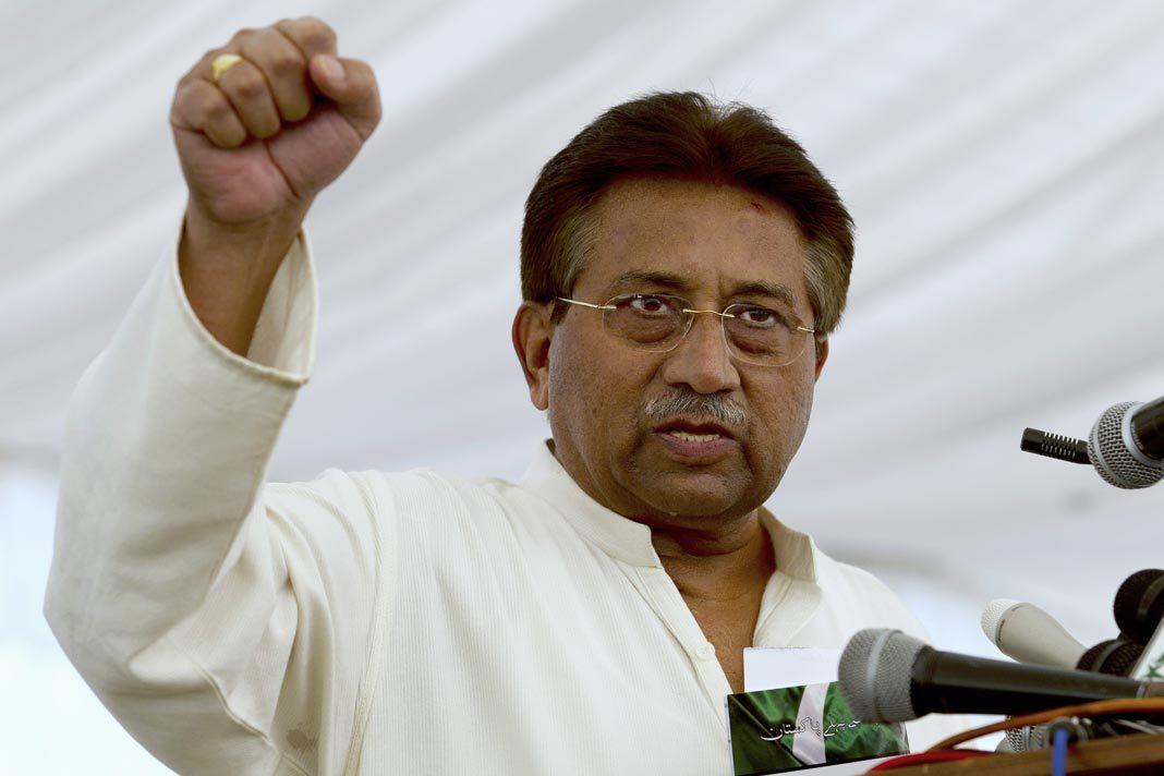 Pakistan's former president Pervez Musharraf. (B.K. Bangash, File)