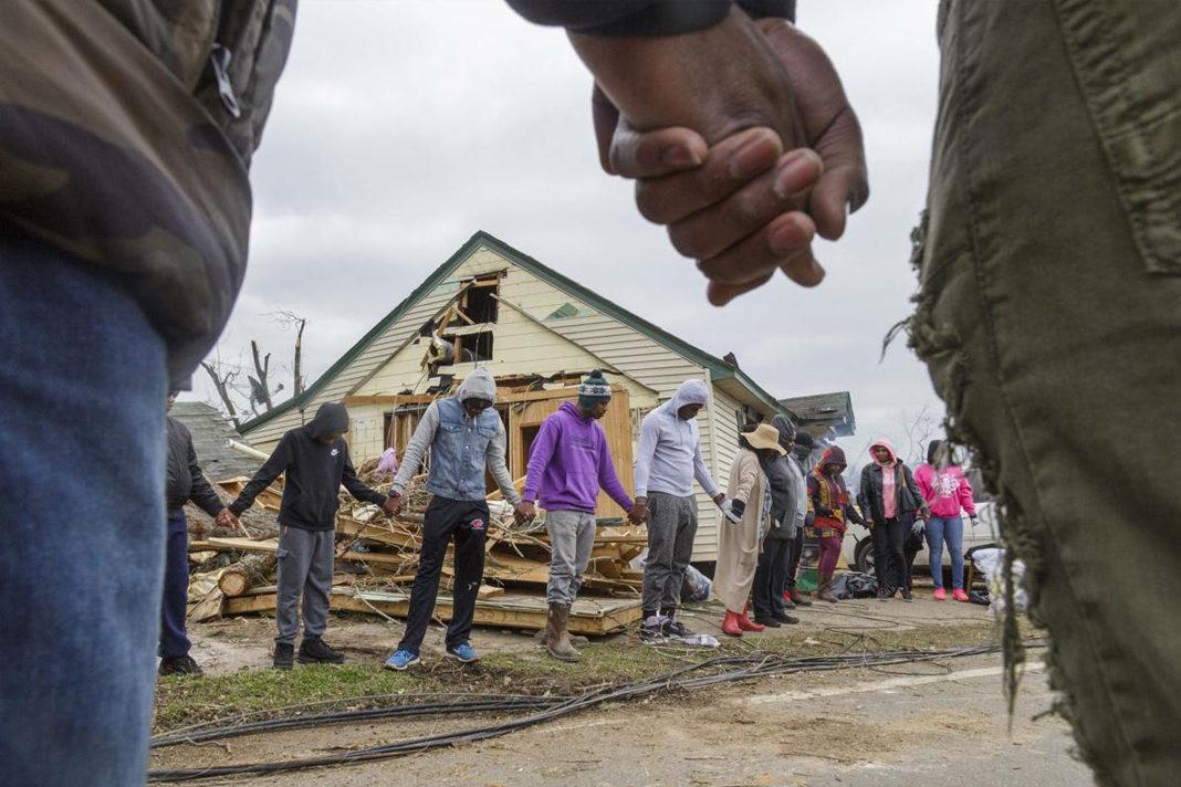 Tornado survivors