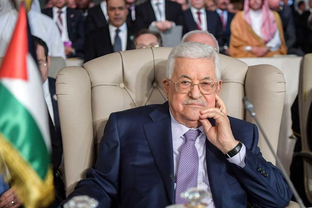 Mahmoud Abbas Photographer: Fethi Belaid/AFP via Getty Images