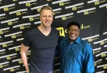 Reverend Kenneth Meshoe and Gareth Cliff