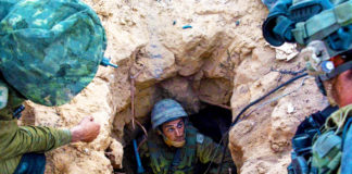 Gaza cross border terror tunnel
