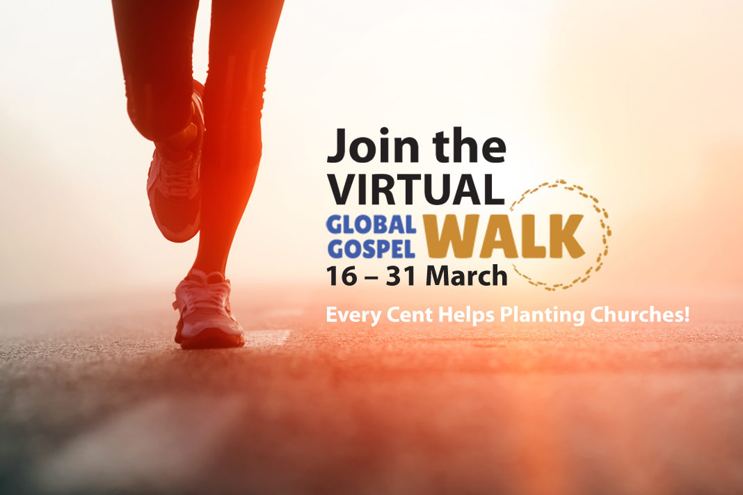 Virtual Global Gospel Walk To Raise Money For Church