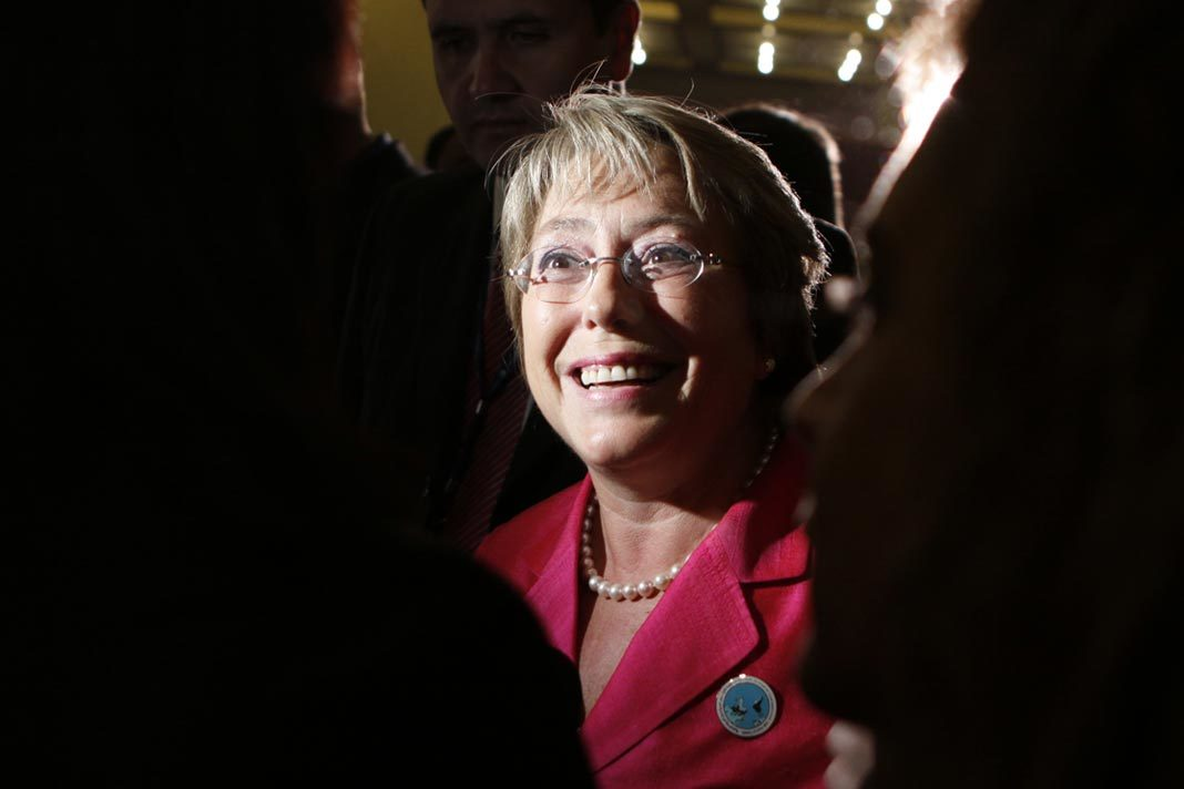 UN Human Rights Commissioner Michele Bachelet (AP/Amr Nabil)