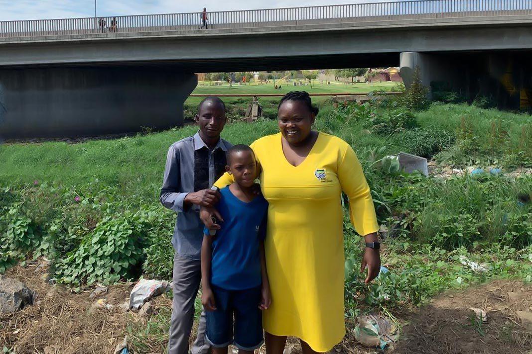 Sizakele Nkosi-Malobane meets Vincent Khosa
