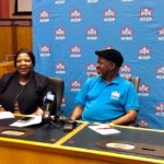 Feature image: Vytjie Mentor (left) and Rev Kenneth Meshoe (right) at the ACDP Media Conference in Parliament