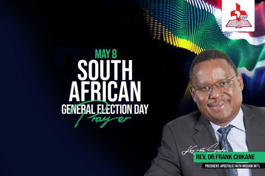 Election Day Prayer Event In Soweto