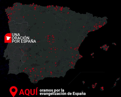 Graph showing the 331 towns of more than 5,000 inhabitants in Spain with no evangelical church. / Decision