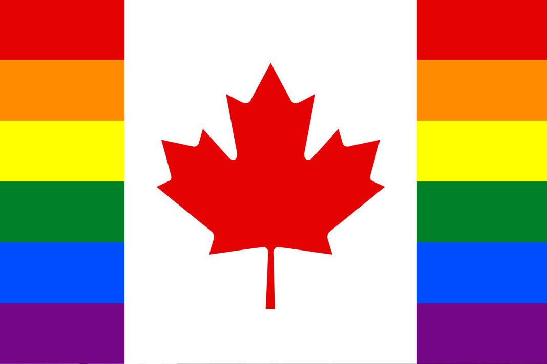 lgbt canada flag