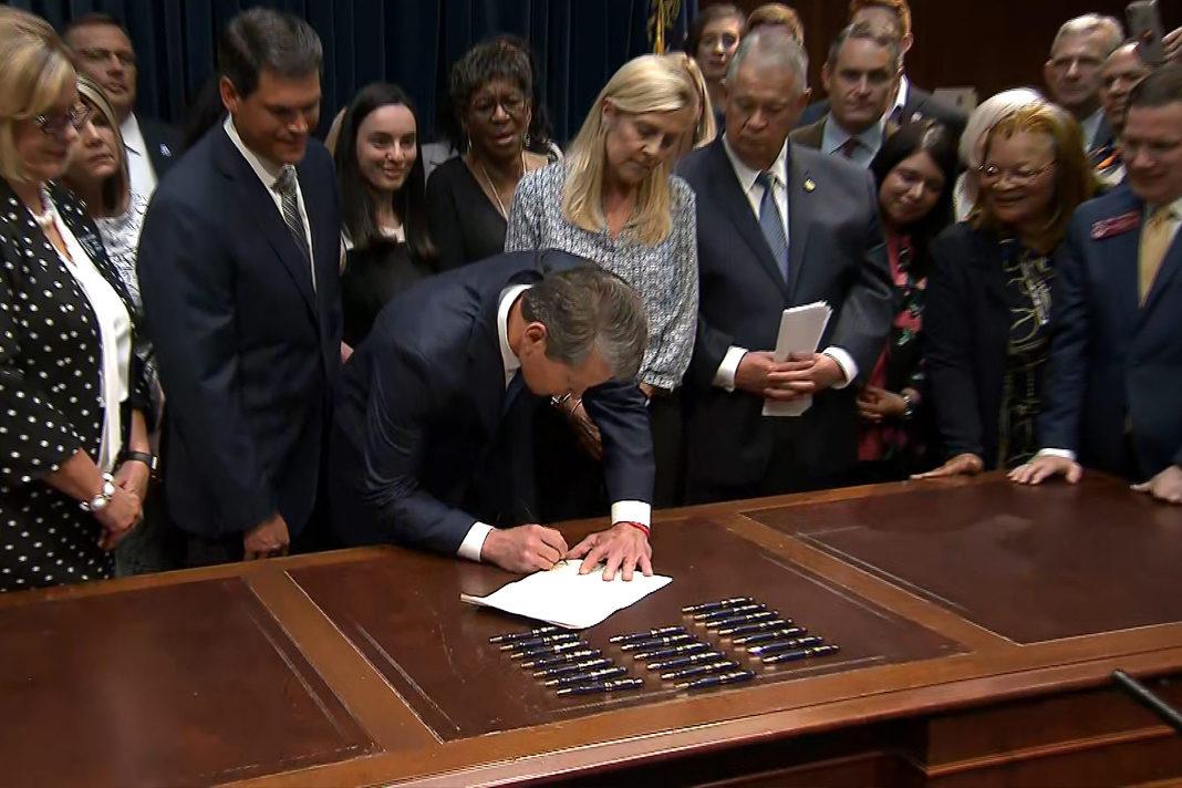 Georgia Gov. Brian Kemp signs HB 481