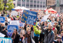 Pro-life march