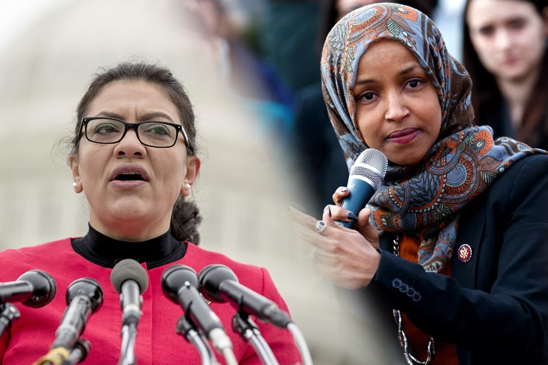 Congresswomen Ilhan Omar and Rashida Tlaib
