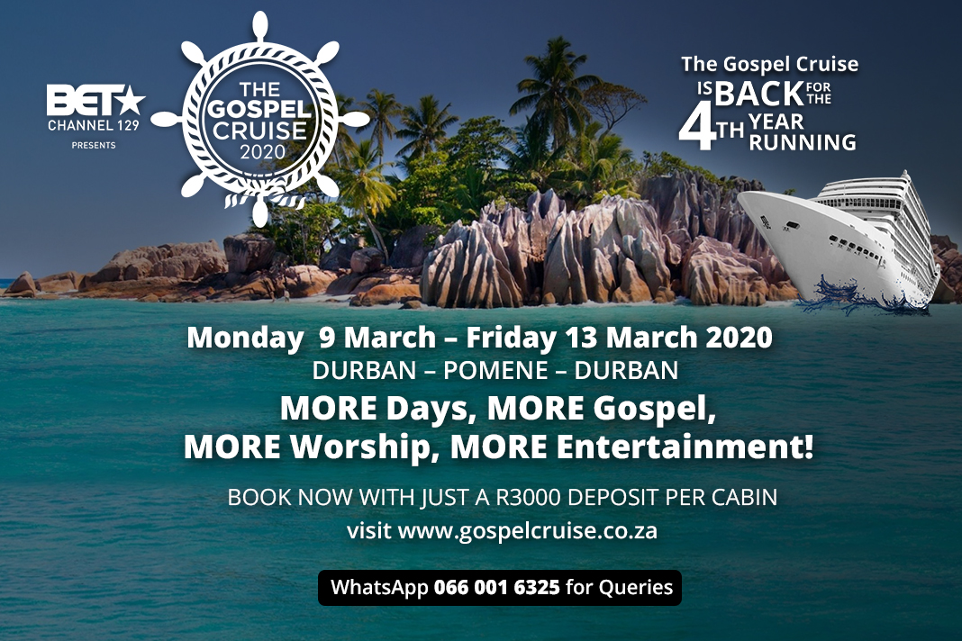 Cruise March 2020.Book For The Gospel Cruise 2020 The Biggest Offshore Gospel