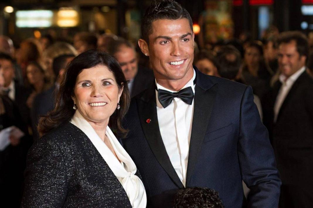 Cristiano Ronaldo and motherMaria Dolores dos Santos Aveiro