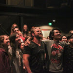 Young adults participate in worship at Elevate Young Adult Ministry in Collin County, Texas. | Elevate Young Adult Ministry