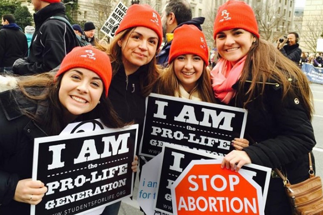 Pro Life Protesters