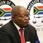 Former President Jacob Zuma at the State Capture