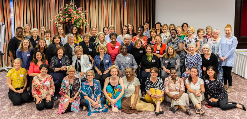 Participants of the Rise in Strength consultation. / Global Christian Women in Leadership.