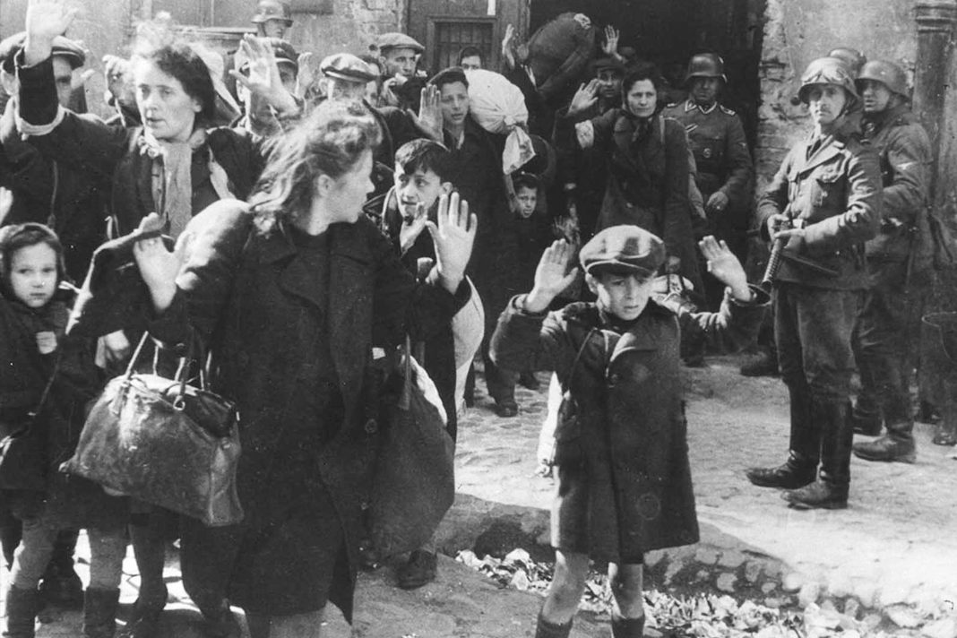 Historical photos of the Holocaust