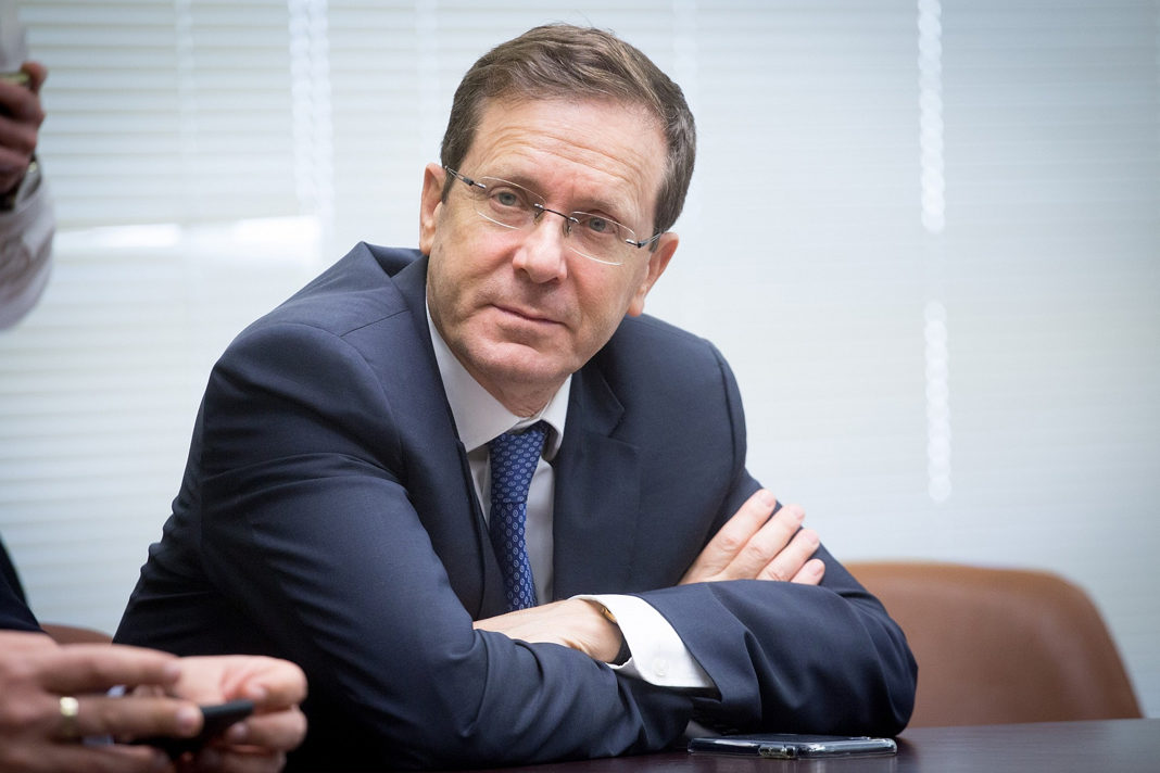 Former Chairman of the Israeli Labour party Isaac Herzog