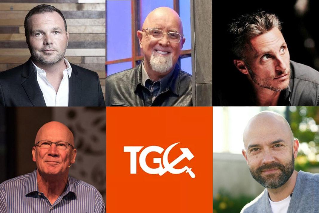 Tullian Tjividjian and Mark Driscoll to James MacDonald and C.J. Mahaney, Joshua Harris