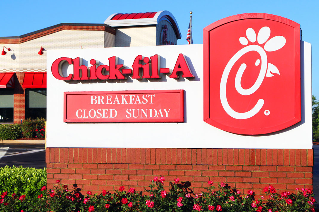 Chick-fil-A Closed On Sunday