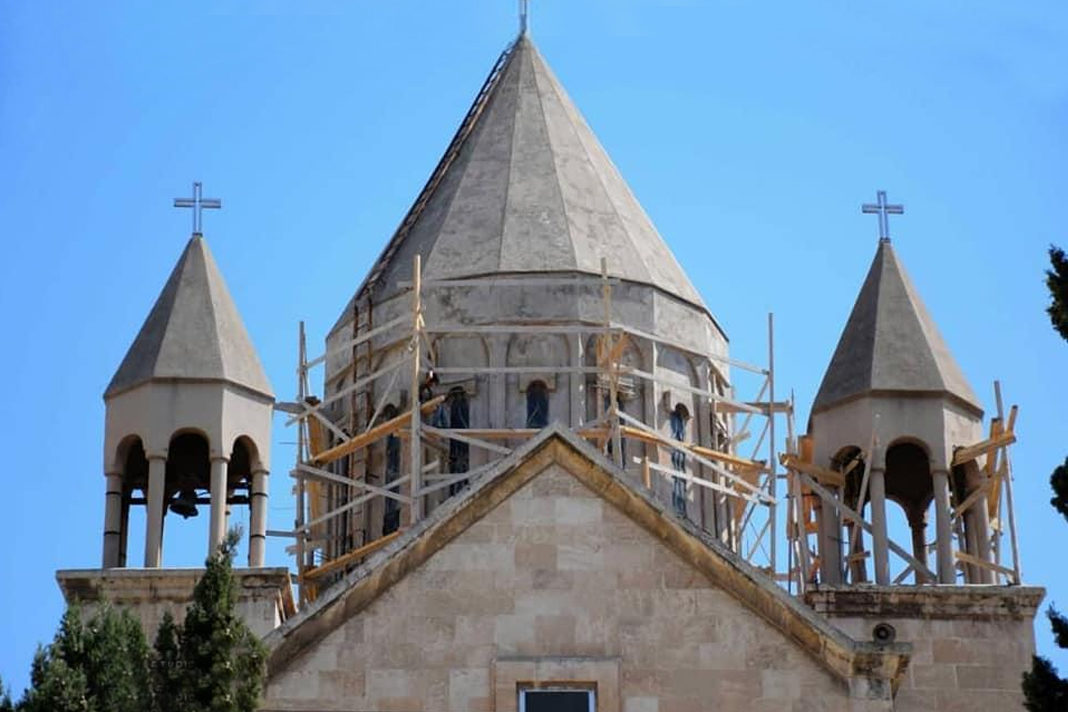Reconstruction of the Armenian Church of the Holy Mother of God in Aleppo