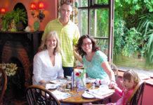 Anna and her husband, Steve, their daughter-in-law, Davidene, and their granddaughter, Dakota