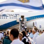 Flight to Israel