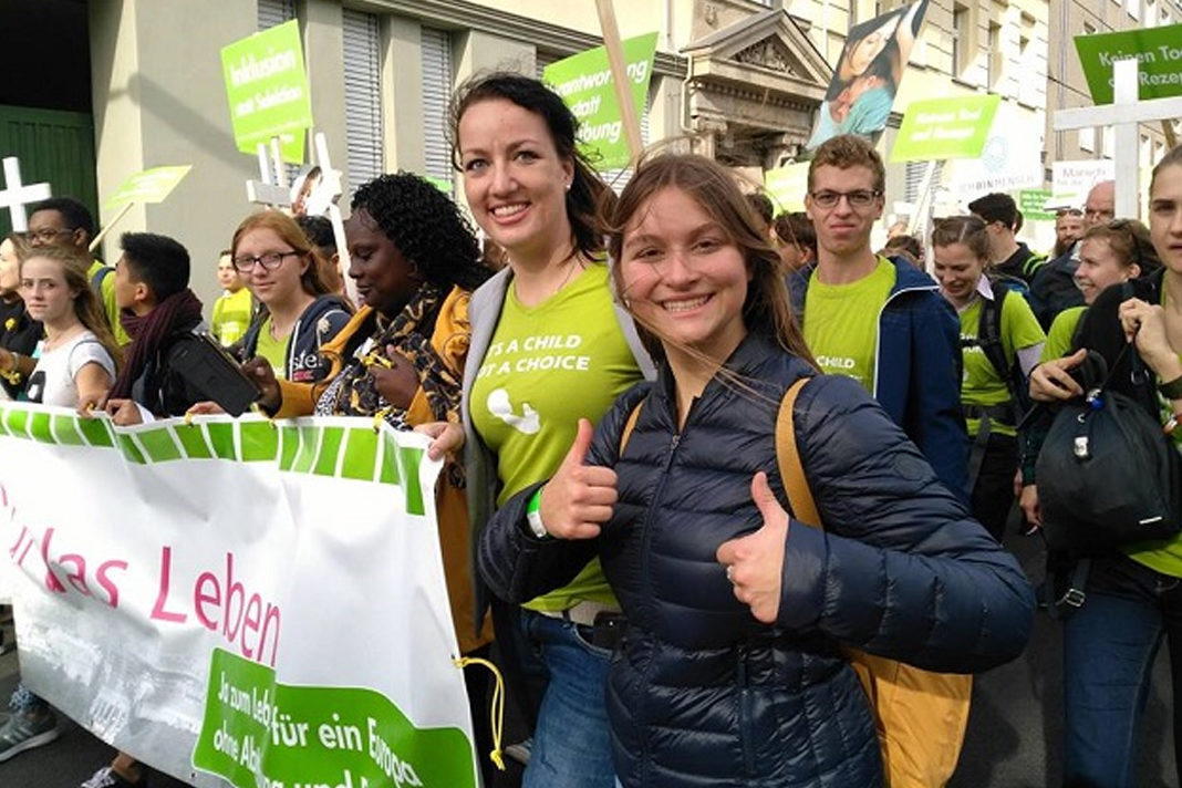 march for life in Berlin