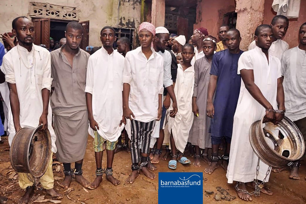 """Christian youth rescued from """"torture chamber"""" Islamic boarding school in northern Nigeria"""