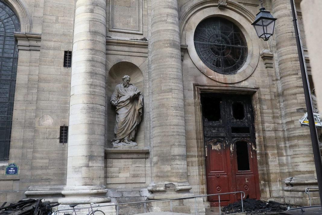 Saint-Sulpice church in Paris