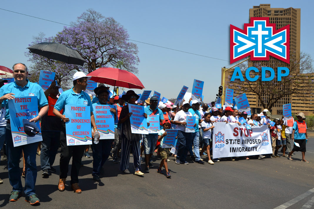 Hundreds of ACDP members and supporters