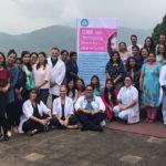 Israeli and Indian doctors at Dhulikhel Hospital in Nepal, September 2019. Photo courtesy of Israeli Embassy in Nepal