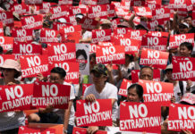 anti-extradition law movement in Hong Kong