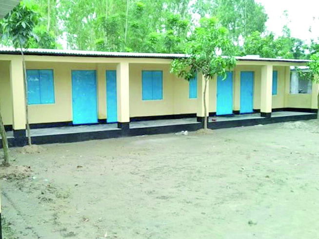 The robust phase 2 homes built by Barnabas on church-owned land will make the Santal Christians less vulnerable to attack