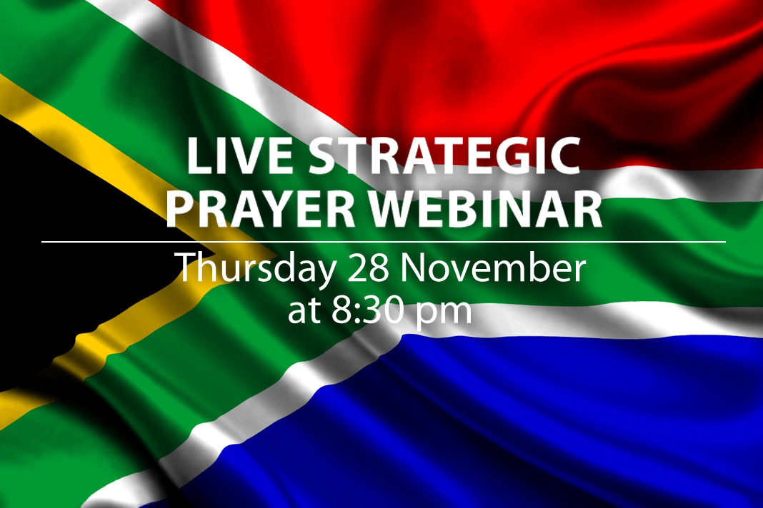 Live Strategic Prayer Webinar