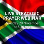 Live Strategic Prayer Webinar