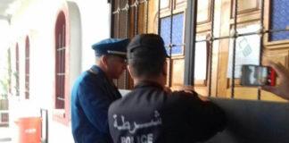 Sudanese Police closing church