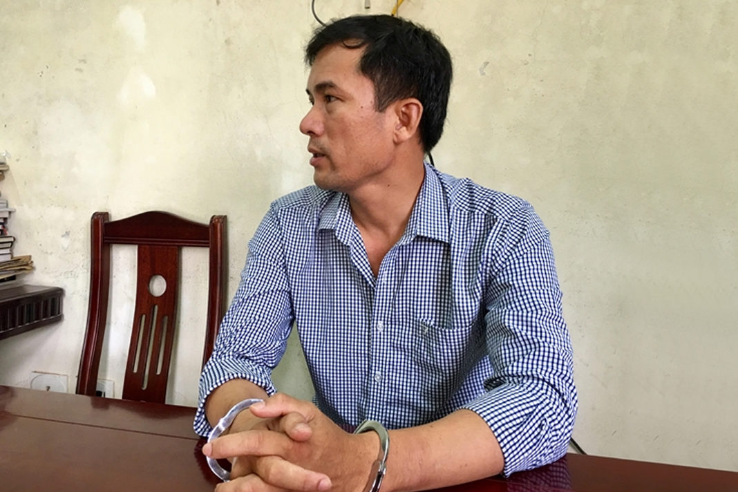 Nguyen Nang Tinh, a 43-year-old Christian music teacher