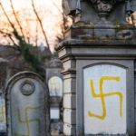 swastika on grave stones