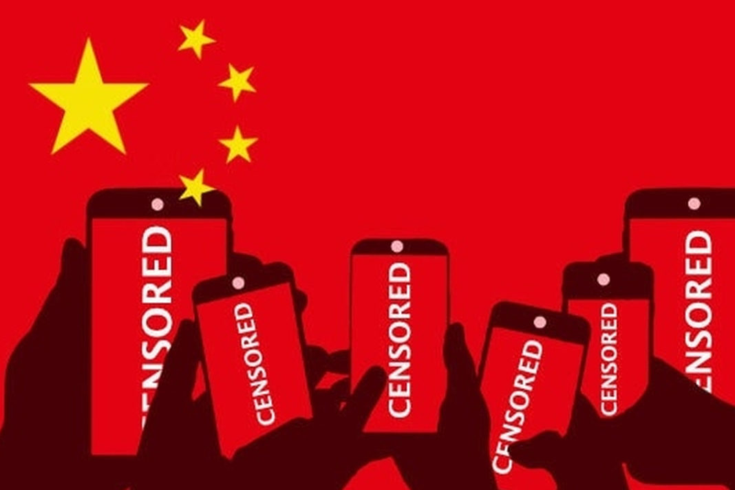 China censors citizens