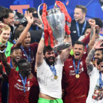 Becker publicly showed his faith after winning the UEFA Champions League. / Instagram Alisson Becker.