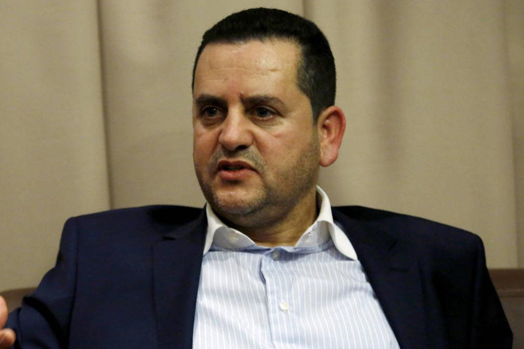 Abdelhadi al-Houij, Libya's Minister of Foreign Affairs. (AP Photo/Hassene Dridi)