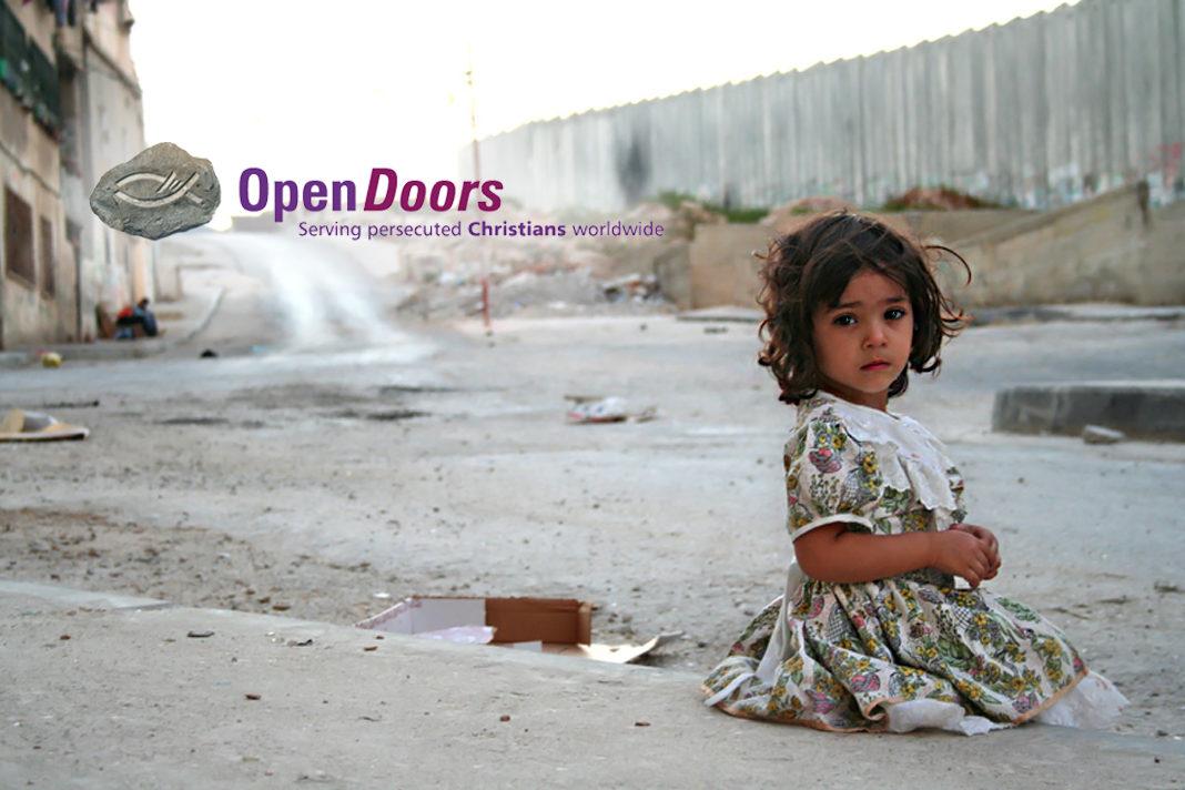 Open Doors pray for persecuted Christian children