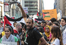 Protesters Demand Israel's Destruction in Times Square