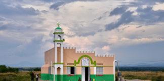 Rural mosque in Uganda.