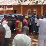 Nigerian Christians praying